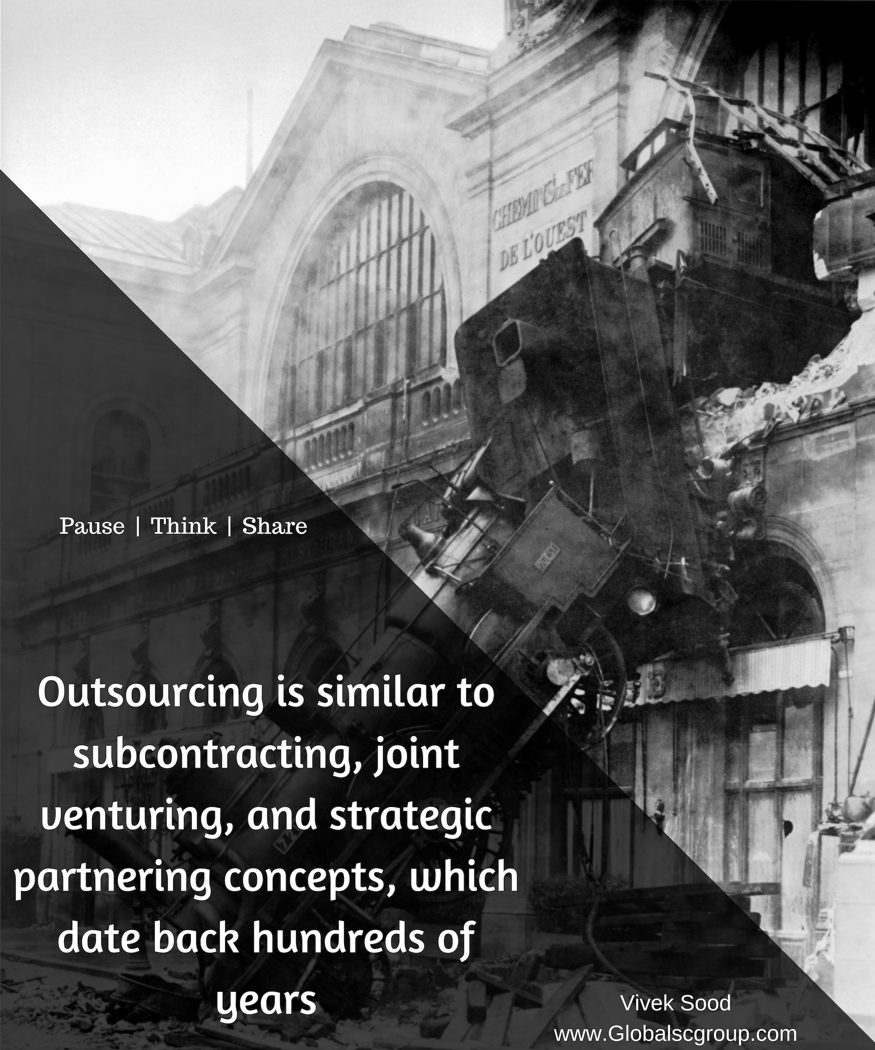 Outsourcing has a long history - Outsourcing 3 0